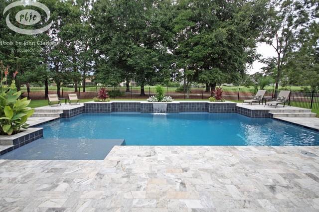 Jacksonville pools traditional pool jacksonville for Pool design jacksonville fl