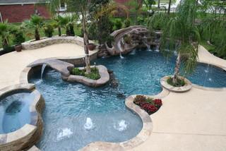 Jenson Tropical Pool Houston By Omega Pools LLC