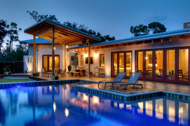 Josh Wynne Construction Modern Pool Tampa By Josh