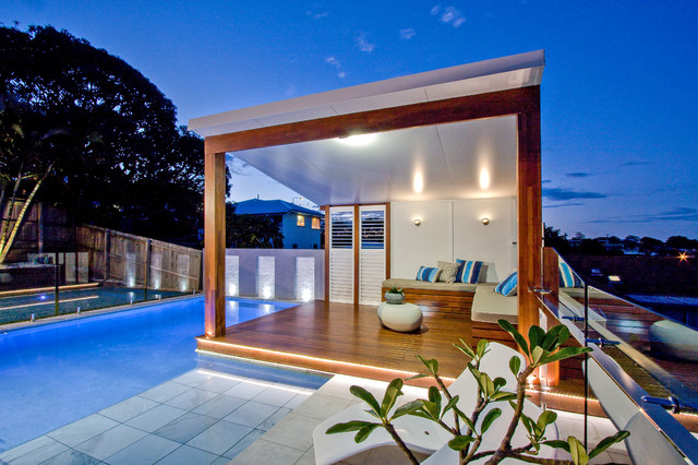 Kerdon Home Resort Modern Pool Brisbane By