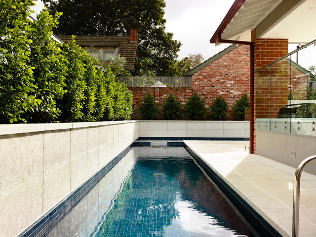 Kew Home Renovation - Contemporary - Pool - Melbourne - by Canny