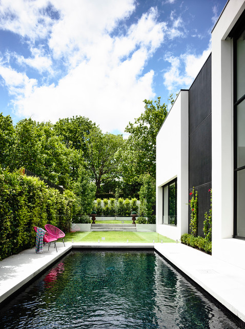Kew House Contemporary Pool Melbourne By Amber