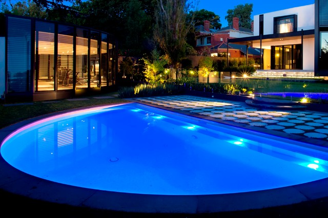 Kew Semi Circle Eclectic Pool Melbourne By Aloha