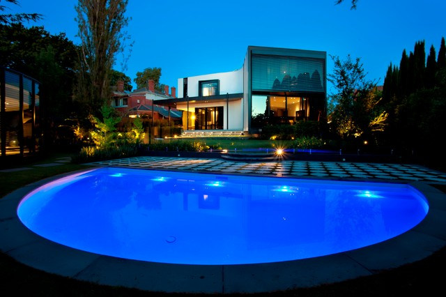 Kew Semi Circle Eclectic Pool Melbourne By Aloha
