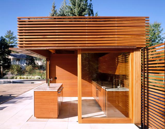 kleinburg pool pavilion modern pool toronto by amantea architects. Black Bedroom Furniture Sets. Home Design Ideas