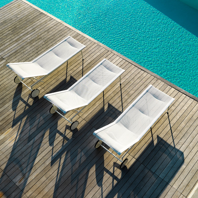 Knoll contemporary-pool