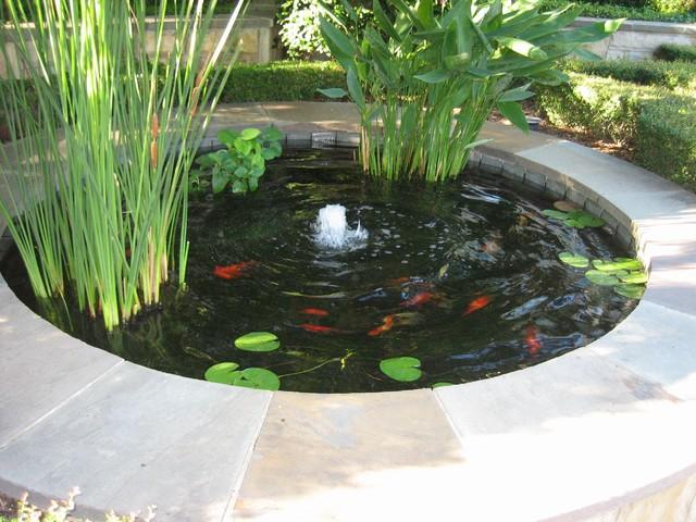 Koi Ponds eclectic-pool