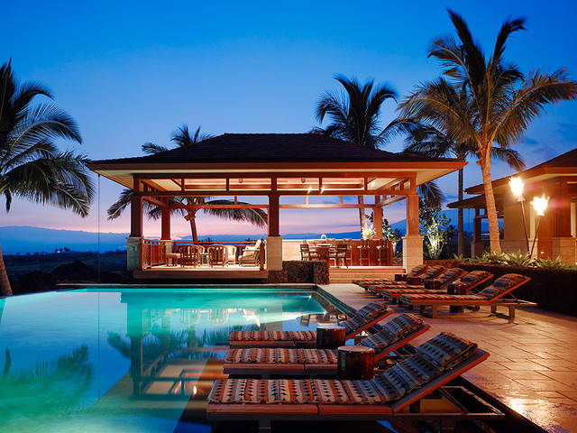 Kuikawa 3 Tropical Pool Hawaii By Gm Construction Inc