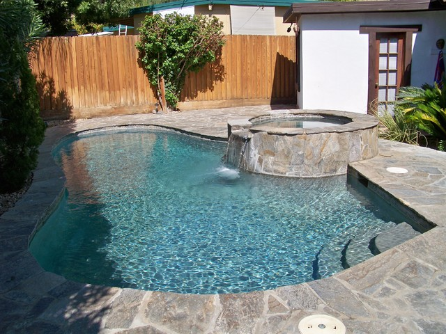 Lagoon Pool/Spa/Patio Remodel Traditional Swimming Pool And Hot