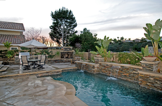 Laguna Niguel Tropical Pool Orange County By Outdoor Concepts Landscape Design