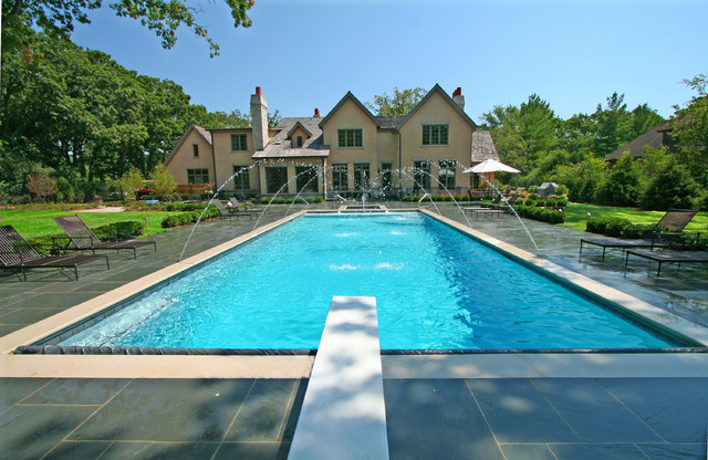 Lake Forest Pool and Spa traditional-pool