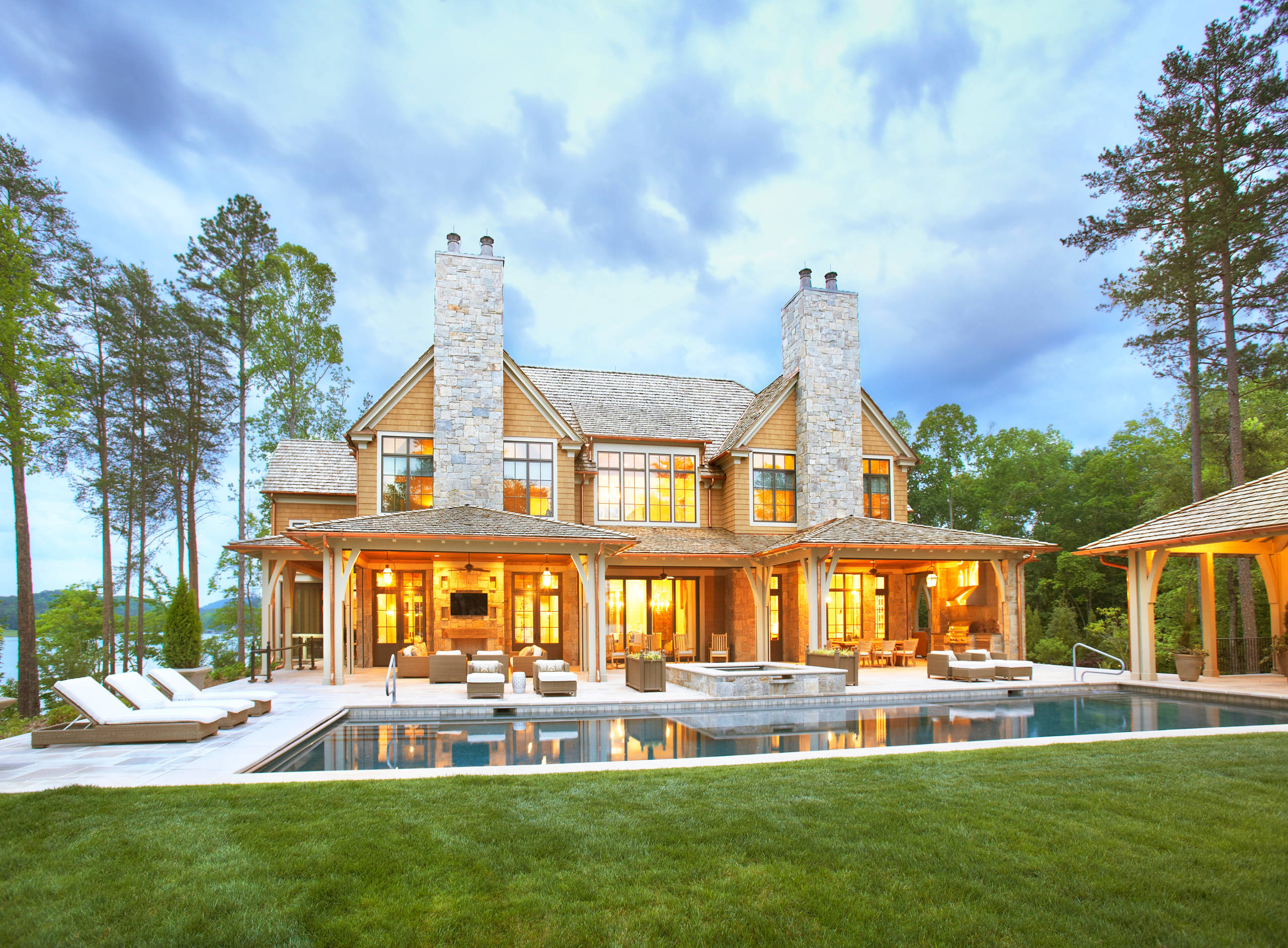 Lake Front Country Estate