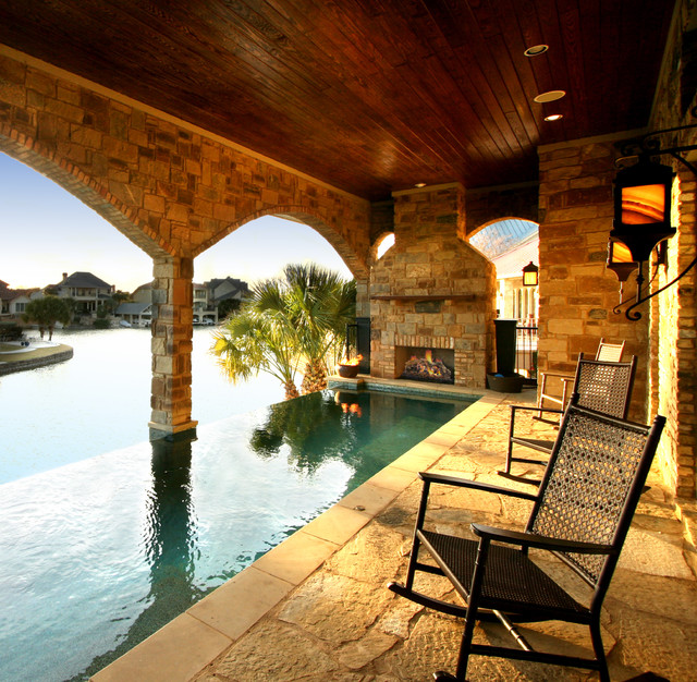Lake House Applehead Island, Horseshoe Bay Texas - traditional ...