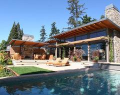 Lake House One - Exterior contemporary-exterior