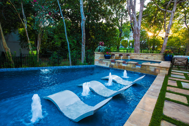 Lakewood Luxury Contemporary Pool Other by