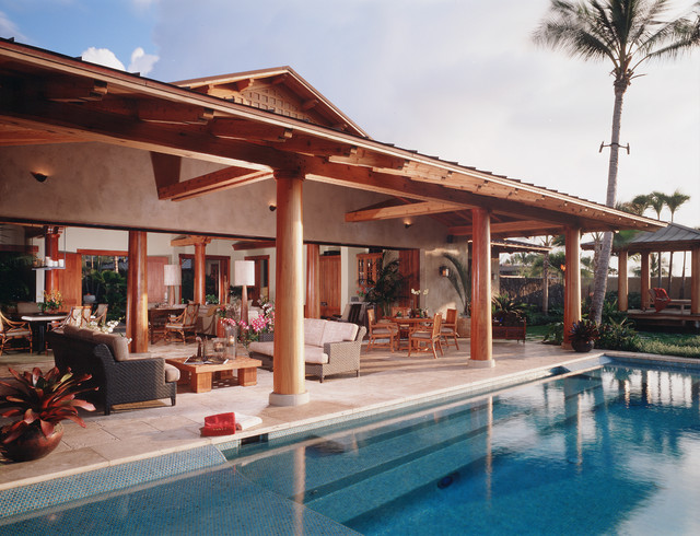 Lanai Pool Tropical Pool Hawaii By Saint Dizier Design