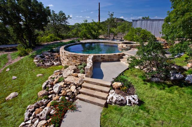 Land Design Tx traditional-pool