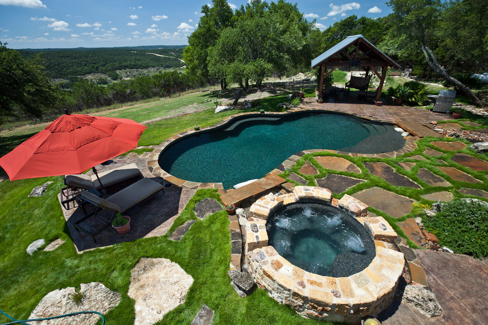 Pool - traditional pool idea in Austin