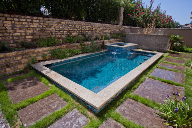 Plunge pool and spa for Plunge pool design