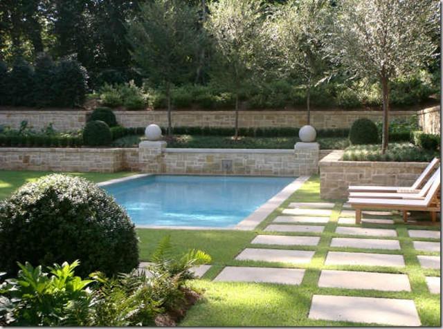 LandPlus Pool Design traditional-pool