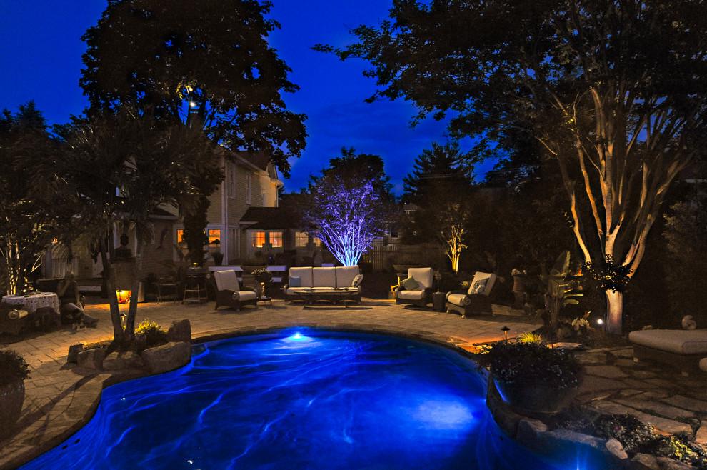 Landscape Lighting Blue Moon