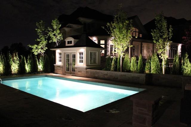 Landscape Lighting Completed By Fine Design Interlocking