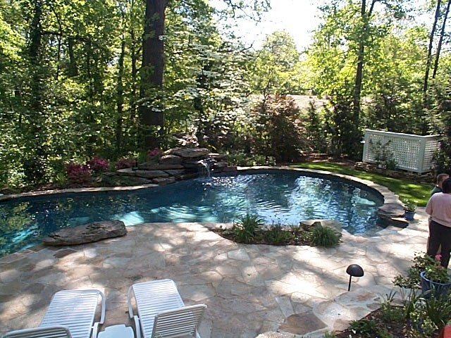 Landscape, Patio & Pool traditional pool