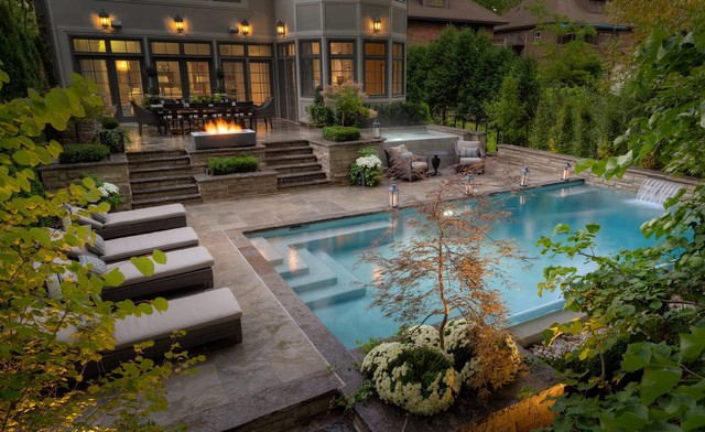 Landscape Photography Transitional Pool Toronto By