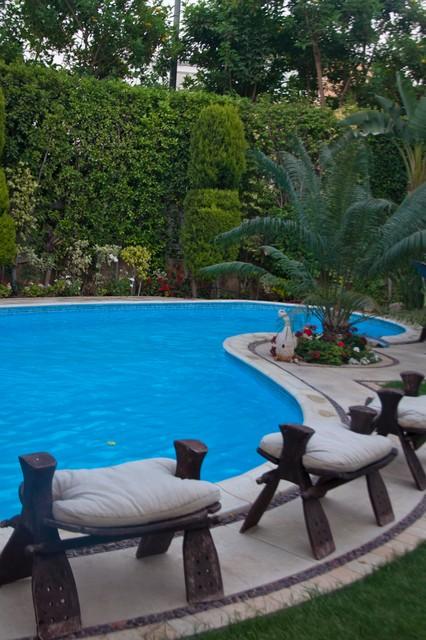 landscape mediterranean-pool