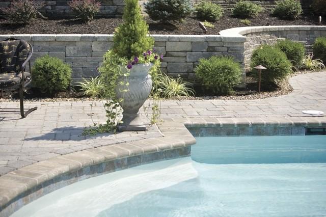 Landscaping Around Swimming Pool Modern Pool