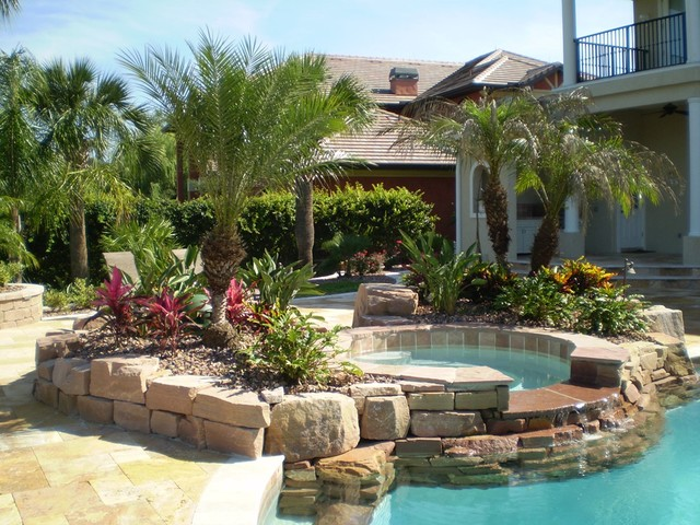 Landscaping Projects Tropical Pool Other Metro By