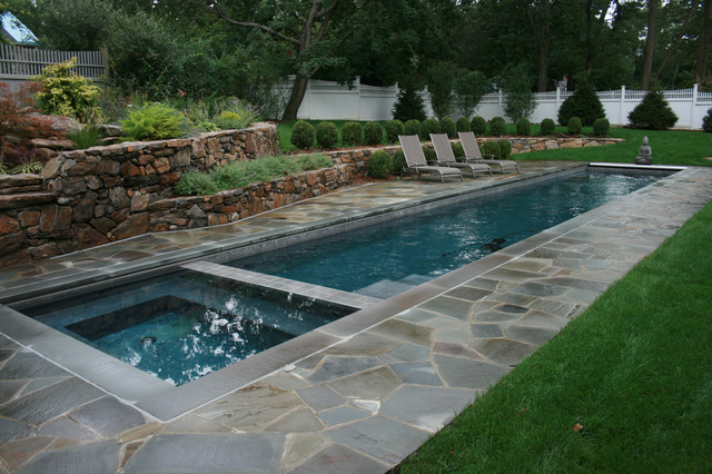 Lap Pool - Traditional - Pool - New York - by Lang Pools Inc.