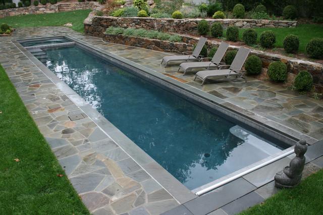 Lap Pool - Klassisch - Pools - New York - von Lang Pools Inc.