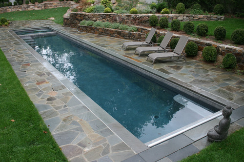 Need to build a pool in a narrow space