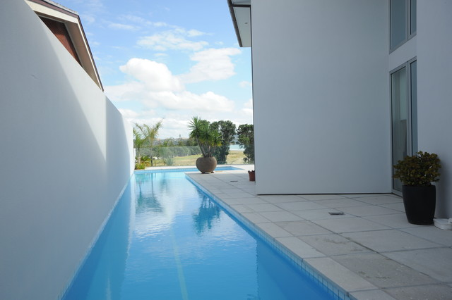 Lap pools auckland for Pool design auckland