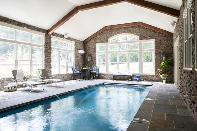 large custom home in woodbridge  va - transitional