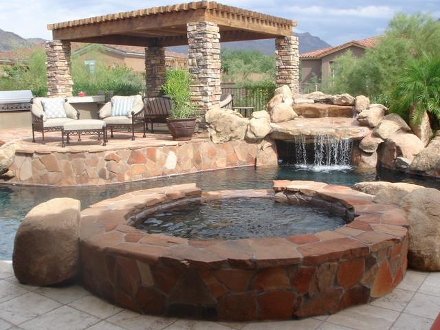 LaStrada Scottsdale traditional-pool