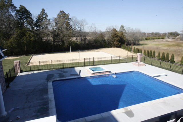 Laurelwood traditional pool for Pool design nashville