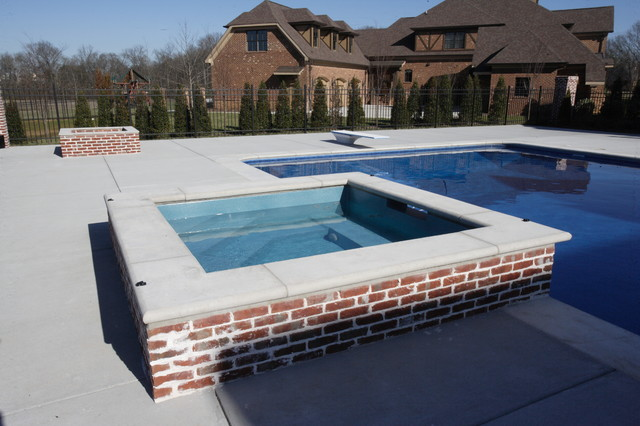 Laurelwood traditional pool nashville by shane for Pool design nashville