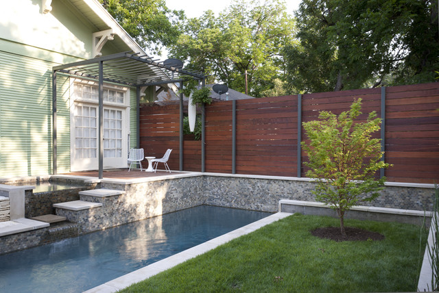 Leasure Residence contemporary pool
