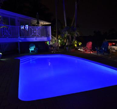 Led Lighting Modern Pool