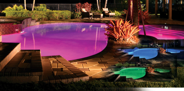 LED Lighting - Traditional - Pool - other metro - by Hayward Pool ...