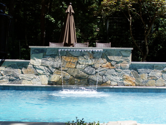 Lee charlottesville va traditional pool richmond for Pool design richmond va