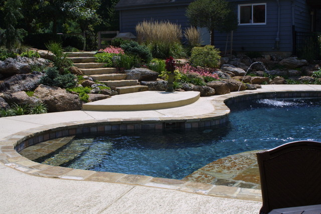 Lee Swimming Pool Traditional Pool St Louis By Liquid Assets Pools Inc
