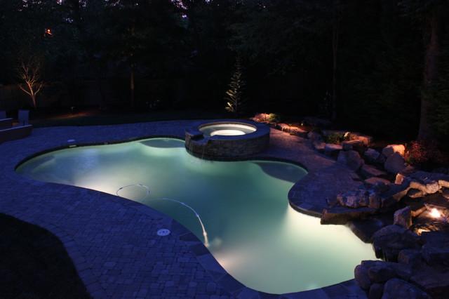 Lighting traditional-pool