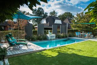 Living Pool Tropical Swimming Pool Hot Tub Hamburg By Bahl Gmbh Gartner Von Eden Houzz Uk