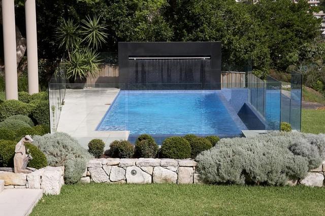 Longueville Landscape modern-pool