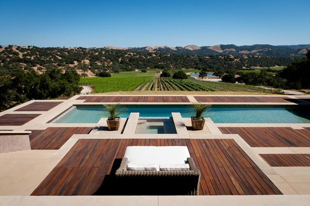 Los Alamos Home contemporary-pool