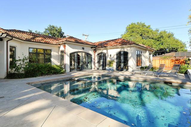 Los Altos Mediterranean House And Pool House