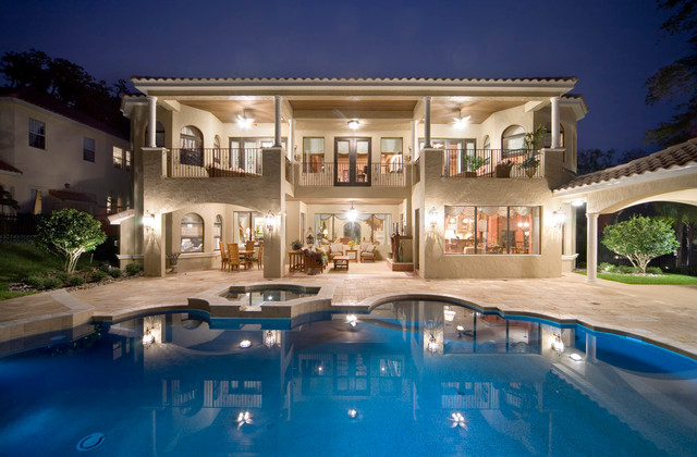 Lot 13 traditional-pool